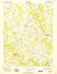 Download a high-resolution, GPS-compatible USGS topo map for Clarksville, MD (1951 edition)