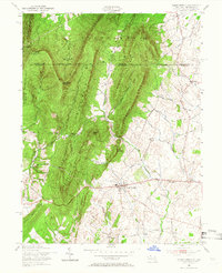 Download a high-resolution, GPS-compatible USGS topo map for Clear Spring, MD (1966 edition)