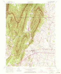 Download a high-resolution, GPS-compatible USGS topo map for Clear Spring, MD (1972 edition)