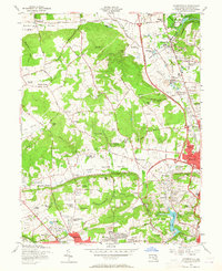 Download a high-resolution, GPS-compatible USGS topo map for Cockeysville, MD (1965 edition)
