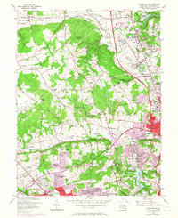 Download a high-resolution, GPS-compatible USGS topo map for Cockeysville, MD (1967 edition)