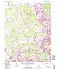 Download a high-resolution, GPS-compatible USGS topo map for Cockeysville, MD (1986 edition)