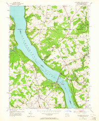 Download a high-resolution, GPS-compatible USGS topo map for Conowingo Dam, MD (1964 edition)