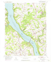 Download a high-resolution, GPS-compatible USGS topo map for Conowingo Dam, MD (1975 edition)