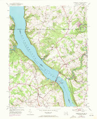 Download a high-resolution, GPS-compatible USGS topo map for Conowingo Dam, MD (1971 edition)