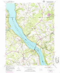 Download a high-resolution, GPS-compatible USGS topo map for Conowingo Dam, MD (1986 edition)