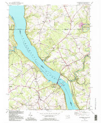 Download a high-resolution, GPS-compatible USGS topo map for Conowingo Dam, MD (1995 edition)