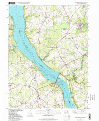 Download a high-resolution, GPS-compatible USGS topo map for Conowingo Dam, MD (1999 edition)