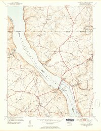 Download a high-resolution, GPS-compatible USGS topo map for Conowingo Dam, MD (1954 edition)