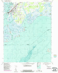 Download a high-resolution, GPS-compatible USGS topo map for Crisfield, MD (1987 edition)