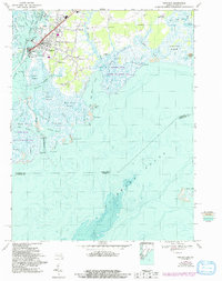 Download a high-resolution, GPS-compatible USGS topo map for Crisfield, MD (1992 edition)