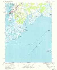 Download a high-resolution, GPS-compatible USGS topo map for Crisfield, MD (1972 edition)