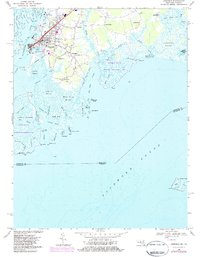 Download a high-resolution, GPS-compatible USGS topo map for Crisfield, MD (1984 edition)