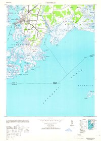 Download a high-resolution, GPS-compatible USGS topo map for Crisfield, MD (1953 edition)