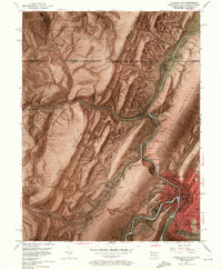 Download a high-resolution, GPS-compatible USGS topo map for Cumberland, MD (1971 edition)