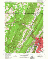Download a high-resolution, GPS-compatible USGS topo map for Cumberland, MD (1967 edition)