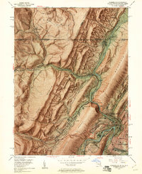 Download a high-resolution, GPS-compatible USGS topo map for Cumberland, MD (1961 edition)