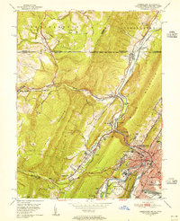 Download a high-resolution, GPS-compatible USGS topo map for Cumberland, MD (1955 edition)