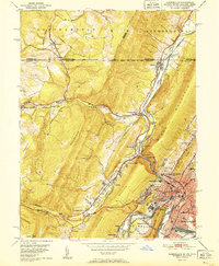 Download a high-resolution, GPS-compatible USGS topo map for Cumberland, MD (1951 edition)