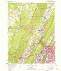 Download a high-resolution, GPS-compatible USGS topo map for Cumberland, MD (1976 edition)