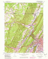 Download a high-resolution, GPS-compatible USGS topo map for Cumberland, MD (1982 edition)