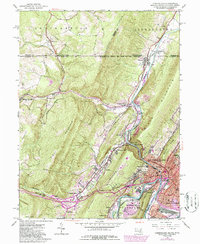 Download a high-resolution, GPS-compatible USGS topo map for Cumberland, MD (1986 edition)