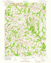 Download a high-resolution, GPS-compatible USGS topo map for Damascus, MD (1966 edition)
