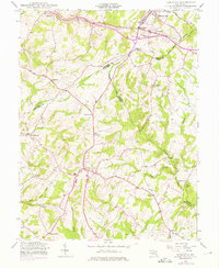 Download a high-resolution, GPS-compatible USGS topo map for Damascus, MD (1975 edition)