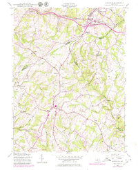 Download a high-resolution, GPS-compatible USGS topo map for Damascus, MD (1979 edition)
