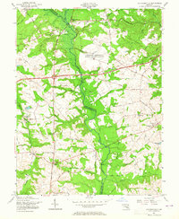 Download a high-resolution, GPS-compatible USGS topo map for Davidsonville, MD (1965 edition)