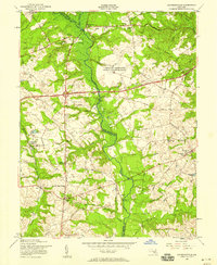 Download a high-resolution, GPS-compatible USGS topo map for Davidsonville, MD (1958 edition)