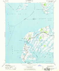Download a high-resolution, GPS-compatible USGS topo map for Deal Island, MD (1970 edition)