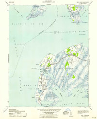 Download a high-resolution, GPS-compatible USGS topo map for Deal Island, MD (1958 edition)