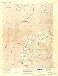 Download a high-resolution, GPS-compatible USGS topo map for Deal Island, MD (1974 edition)