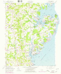 Download a high-resolution, GPS-compatible USGS topo map for Deale, MD (1979 edition)