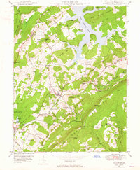 Download a high-resolution, GPS-compatible USGS topo map for Deer Park, MD (1965 edition)