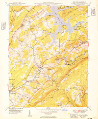 Download a high-resolution, GPS-compatible USGS topo map for Deer Park, MD (1949 edition)