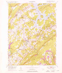 Download a high-resolution, GPS-compatible USGS topo map for Deer Park, MD (1975 edition)
