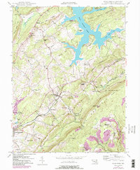 Download a high-resolution, GPS-compatible USGS topo map for Deer Park, MD (1982 edition)