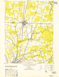 Download a high-resolution, GPS-compatible USGS topo map for Delmar, MD (1953 edition)