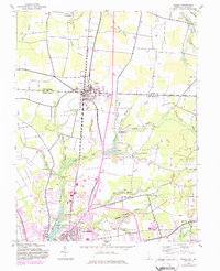 Download a high-resolution, GPS-compatible USGS topo map for Delmar, MD (1983 edition)