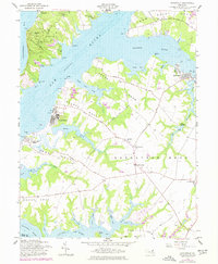 Download a high-resolution, GPS-compatible USGS topo map for Earleville, MD (1977 edition)