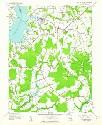 Download a high-resolution, GPS-compatible USGS topo map for East New Market, MD (1962 edition)