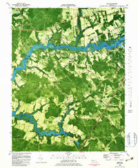 Download a high-resolution, GPS-compatible USGS topo map for Eden, MD (1983 edition)