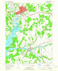 Download a high-resolution, GPS-compatible USGS topo map for Elkton, MD (1965 edition)