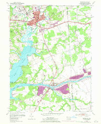 Download a high-resolution, GPS-compatible USGS topo map for Elkton, MD (1971 edition)