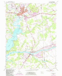 Download a high-resolution, GPS-compatible USGS topo map for Elkton, MD (1985 edition)