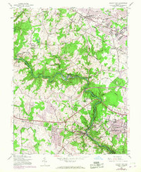 Download a high-resolution, GPS-compatible USGS topo map for Ellicott City, MD (1967 edition)