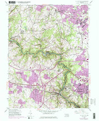 Download a high-resolution, GPS-compatible USGS topo map for Ellicott City, MD (1976 edition)