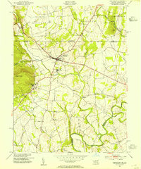 Download a high-resolution, GPS-compatible USGS topo map for Emmitsburg, MD (1954 edition)